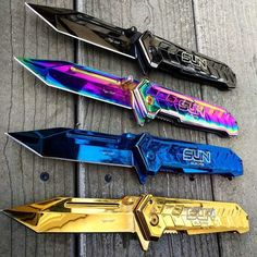 Those are pretty knives
