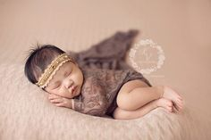 This gorgeous super stretchy lace wrap is easy to use and can be completely swaddled around newborn babies for the perfect first photo! Edges are unfinished. For a great setup you can coordinate these Baby Poses, Newborn Poses, Newborn Shoot, Newborn Babies, Newborns, Newborn Photography Props, Children Photography, Photography Ideas, Newborn Pictures