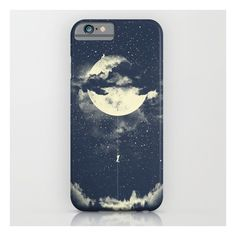 Moon Climbing iPhone 6s Case ($35) ❤ liked on Polyvore featuring accessories, tech accessories and iphone & ipod cases
