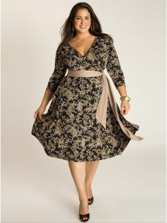 Plus Size Day Dresses For The Casual Events by IGIGI