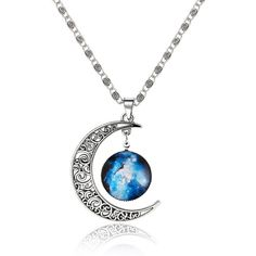 Silver Sun Moon Pendant Necklace (3.87 CAD) ❤ liked on Polyvore featuring jewelry, necklaces, silver, silver necklace, silver pendant jewelry, pendant necklace, silver pendant necklace and silver jewellery