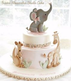 Home Remodel Floors 10 of the BEST baby shower cakes ever! Pretty Cakes, Cute Cakes, Beautiful Cakes, Amazing Cakes, Baby Shower Cakes, Gateau Baby Shower, Baby Cakes, Safari Baby Shower Cake, Elephant Baby Shower Cake