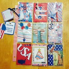 I have been going some swapping. I received this beautiful Red, White and Blue pocket letter  from Sandy. I am in a group on facebook. Lots of fun. #crafts #craft #crafty #handmade #tag #tags #primadoll #primadolls #paper #papercrafts #papercraft #papercrafting #pocketletter #pocketletters #pinpals #snailmail #swap #swapit #flipbook #penpal #flipbookswap #pocketletterpals #pocketletterswap #pocketlettersupplies #flipbooks