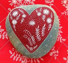 EcoNotas.com: Decoracion con Piedras para San Valentin