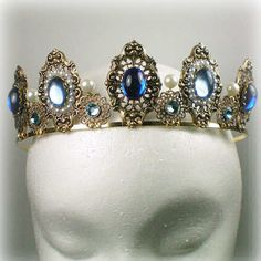 Anne Boleyn Sapphire Tiara Anne Boleyn was Queen of England from...