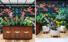 Arroyo Hotel | Yellowtrace Corporate Interior Design, Corporate Interiors, Glass Partition Wall, Paint Bar, Article Design, Environmental Graphics, Mural Painting, Wall Treatments, Wall Murals