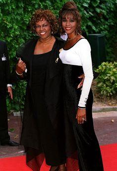 https://www.facebook.com/Whitney Houston and her mother, Sissy Houston