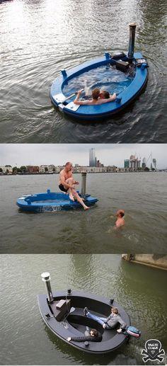 Hot Hot Tub Tug Boat