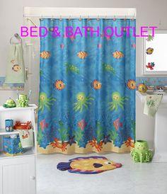 Adorable Ocean Bathroom Set Saay Knight Ltd