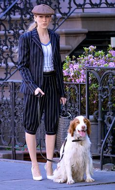 Look of the Day photo   Carrie's Vintage Striped Suit