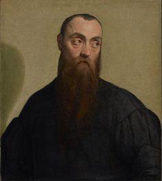 Jacopo Bassano (1510/15-1592), Portrait of a Bearded Man, about 1550; Oil on canvas, 62.2x54.9 cm | J. Paul Getty Museum