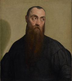 Portrait of a Bearded Man; Jacopo Bassano (Italian, about 1510 or 1515 - 1592); about 1550; Oil on canvas; 62.2 × 54.9 cm (24 1/2 × 21 5/8 in.); 69.PA.25; J. Paul Getty Museum, Los Angeles, California