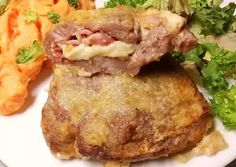 Labancpecsenye 🧀 | Törzsök Éva receptje - Cookpad receptek Meat Recipes, Nutella, Pork, Food And Drink, Paleo, Beef, Chicken, Cooking, Boho Style