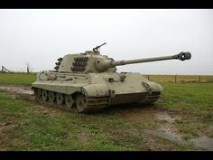 Top 10 Tanks WWII: Various well known tanks in unloading and driving demonstration, including: Panther, Tiger I & King Tiger. Rétromobile 2015 (YouTube)