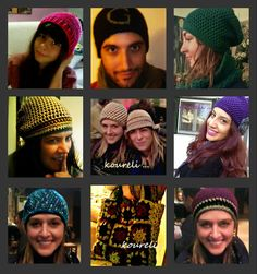 handmade creations by koureli Crochet Hats, Handmade, Fashion, Hand Made, Moda, La Mode, Craft, Fasion, Fashion Models