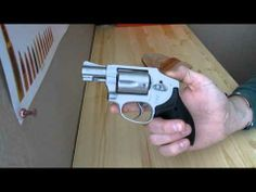 ▶ Smith and Wesson 642 Airweight: J Frame Crimson Trace Laser Grips - YouTube