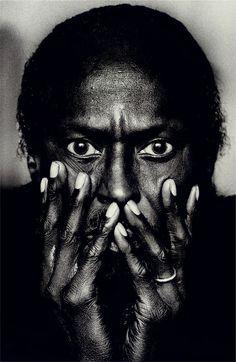 """© Anton Corbijn, 1985, Portrait of Miles Davis, Montreal / Canada    """"Taken in…"""