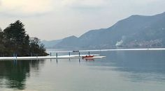 christo lago iseo - Cerca con Google