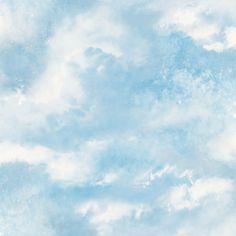 Diamond Galaxy Blush Wallpaper - Blue