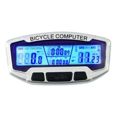 Cheap bike speedometer, Buy Quality computer lcd directly from China bicycle computer Suppliers: Digital LCD Display Bicycle Computer Bike Odometer Speedometer Blue Backlight Thermometer Clock + Stopwatch Cycling Accessories Cycling Accessories, Computer Accessories, Bicycle Speedometer, Computer Set, Bike Parts, Ebay, Clock, Display, Bluetooth