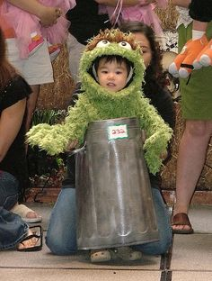 Baby Oscar the Grouch