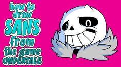 How to draw Sans from the game undertale