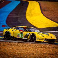 The #64 Corvette Racing C7.R Z06 will run in the 83rd running of the 24 Hours of Le Mans this weekend. / GM Motorama