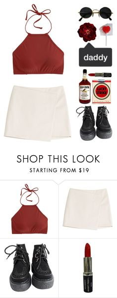 """""""sugar daddy"""" by oldmagconforlife ❤ liked on Polyvore featuring J.Crew, Marc by Marc Jacobs and Manic Panic NYC"""
