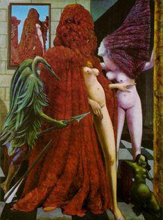 El baño de la novia Max Ernst (un gran favorito)