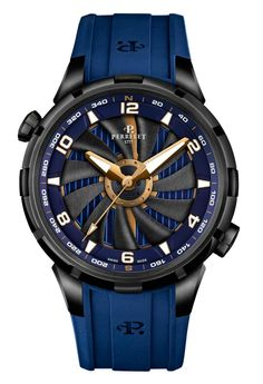 TimeZone : Industry News » N E W M o d e l - Perrelet Turbine Yacht