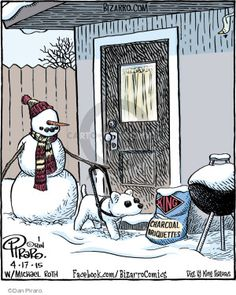 Bizarro - Snowman Comic Strips | The Comic Strips
