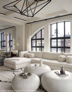New York Apartment by Julie Hillman Design | Photography by Jean-Francois Jaussaud | Elle Decoration