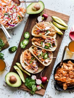 Give taco night a little spice and some extra crunch with these Chipotle Chicken Tacos with Jicama Slaw made with Thrive Algae Oil. #ad