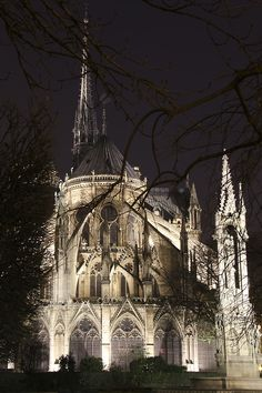 Gothic cathedral.
