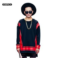 397a23367613 2017 Spring new men sweatshirt red print shoulder button men long sleeve pullover  hoodie male street fashion hip hop sweatshirt. Anna Welch