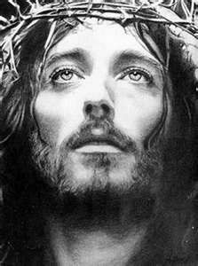 """the Crucified Christ....from the movie """"Jesus of Nazareth""""."""