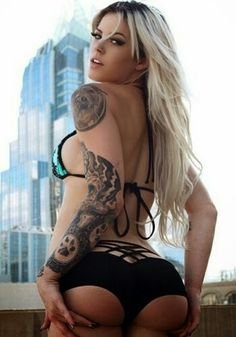 After The Jump Ive Prepared A Gallery Of The Best Collection Of The Most Beautiful And Sexy Inked Tattooed Girls On The Planet