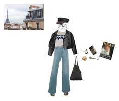 """""""i just come back from paris"""" by vuesurciel ❤ liked on Polyvore featuring Dr. Martens, Del Forte, Dot & Bo, French Kande, Fallenbrokenstreet, Acne Studios and Laneus"""