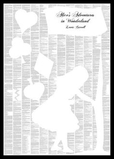 Spineless Classics Alice's Adventures in Wonderland Print