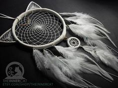 Artemis Dream Catcher by #TheInnerCat  www.etsy.com/shop/theinnercat…