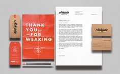 Arkade Clothing Co. on Branding Served
