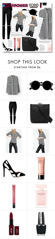 """""""Yoins"""" by tasnime-ben ❤ liked on Polyvore featuring Retrò, Bobbi Brown Cosmetics, Sephora Collection, Narciso Rodriguez, NYX, OPI and yoins"""