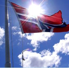 VE Day in Norway meant that the Norwegian flag could fly again