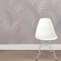 Edie Bronze Wallpaper