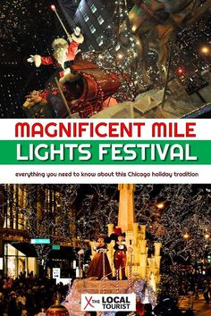 Christmas in Chicago is a magical time, especially at the Magnificent Mile Lights Festival. Here's everything you need to know, including what to do at this Chicago Christmas tradition and where to stay. Chicago Christmas, Christmas Travel, Christmas 2019, Chicago Magnificent Mile, Chicago Restaurants Best, Chicago River, Chicago Lake, Chicago City, Chicago Things To Do