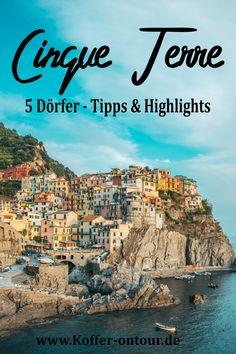 Planst du eine Reise in die Cinque Terre? Hier findest du alles was du darüber wissen solltest. Sehenswertes, Sehenswürdigkeiten und die schönsten Orte. Schau mal rein damit du nichts verpasst! Cinque Terre, Reisen In Europa, Grand Canyon, Travel Destinations, Around The Worlds, Explore, Tricks, Wanderlust, Europe Travel Tips