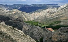 Parque Geológico en Aliaga Teruel