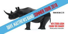 The Dave Matthews Band have recently announced tour dates for this summer. They have also announced plans to release a new record.