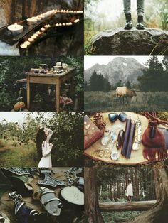 """kinstethic: """" Forest Witch aesthetic """""""