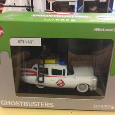 """""""Titan Ghostbusters ambulance 4.5 inches £15 #ghostbusters #titan #whoyagonnacall Like this? I'm selling it on @depopmarket. Search for me: diversions on #depop ✌ """" Photo taken by @diversionsgifts.co.uk on Instagram, pinned via the InstaPin iOS App! http://www.instapinapp.com (07/17/2015)"""